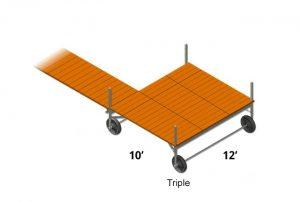12'x10' Sun Decks