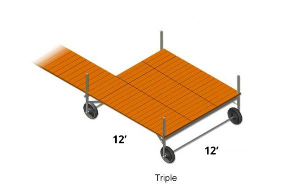 12'x12' Sun Decks