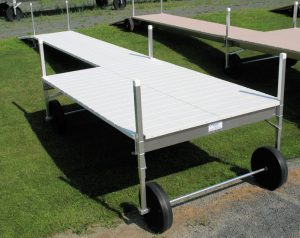 34' Long V-Dock Roll-In with a 8' x 12' Sun Deck 2010