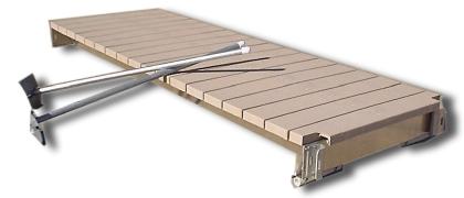 Aluminum & Maintenance Free Sectional Boat Docks
