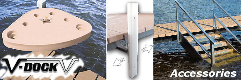 Floating Boat Dock Parts Amp Accessories V Dock