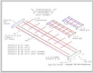 V-Dock Item Parts List Break Down .PDF's 15 Pages