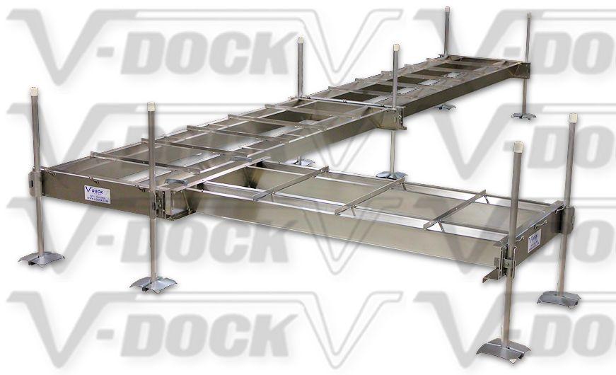 Aluminum V-Beam Support | V-Dock