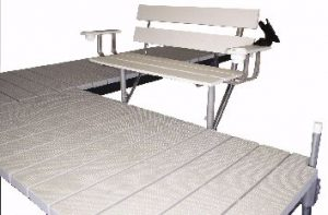 sidemount bench.