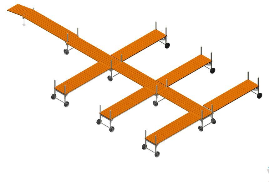 Custom V-Dock Shapes