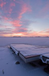 How Ice Can Damage Your Dock