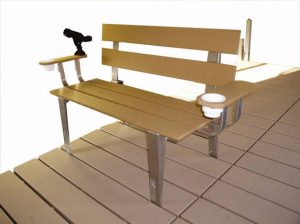 Movable Dock Bench