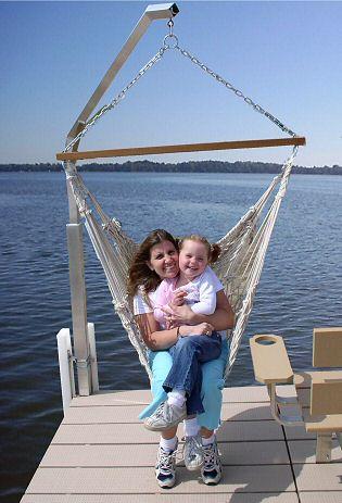 V-Dock Vertical Hammock Swing