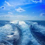 boat wake speedy prop wash foam
