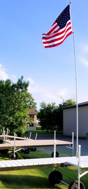 2018 Flag Pole with 4 x 6 Flag