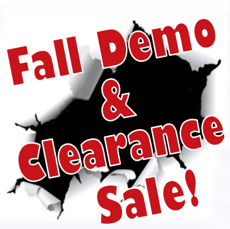 Fall Clearence Sale